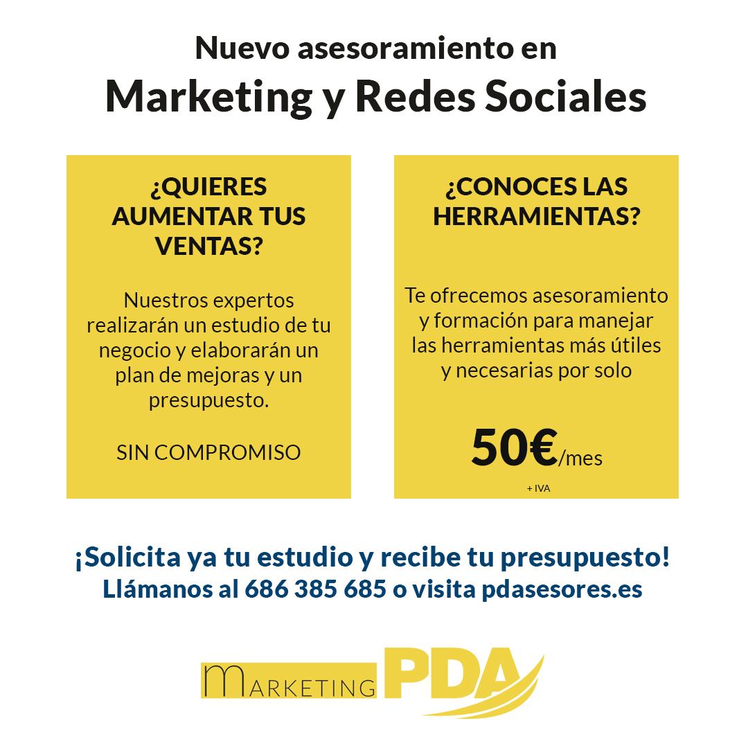 asesoramiento marketing y redes sociales