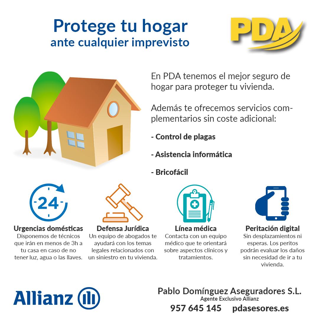 servicios seguro hogar